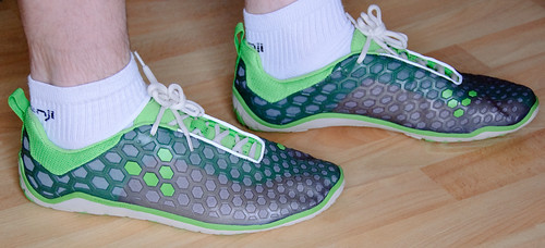 VivoBarefoot Evo: How they look on me