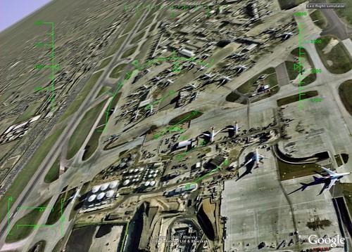 Heathrow Airport - Google Flight Simulator