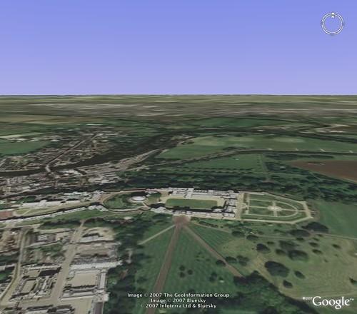 Windsor Castle - Google Flight Simulator