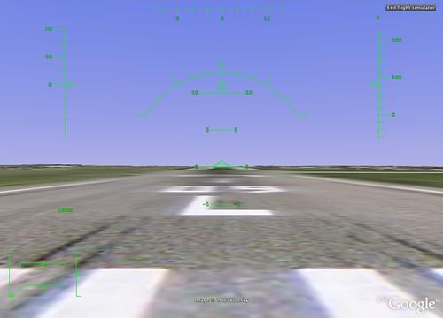 Runway - Google Flight Simulator