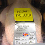 Another Security Tagged Chicken
