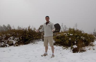 Saffer In Snow