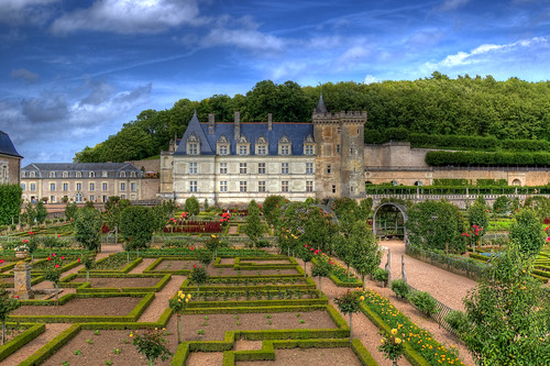 Le Chateau de Villandry in HDR