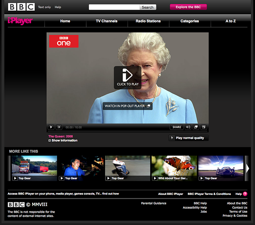 The Queen Loves Top Gear
