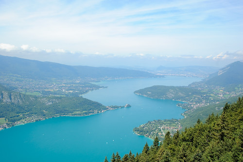 Lac d'Annecy From Col de la Forclaz
